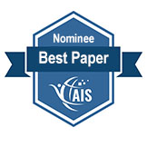 Best Paper Nominee badge