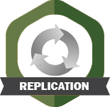 Replication badge
