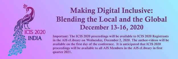 ICIS 2020 Proceedings